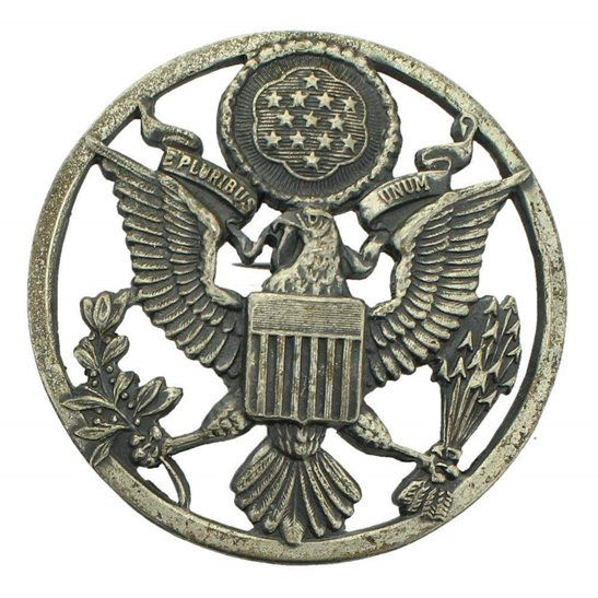 Ww2 United States Us Army American Infantry Cap Badge