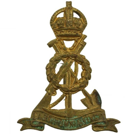 Pioneer Corps WW2 Royal Pioneer (Labour) Corps Collar Badge