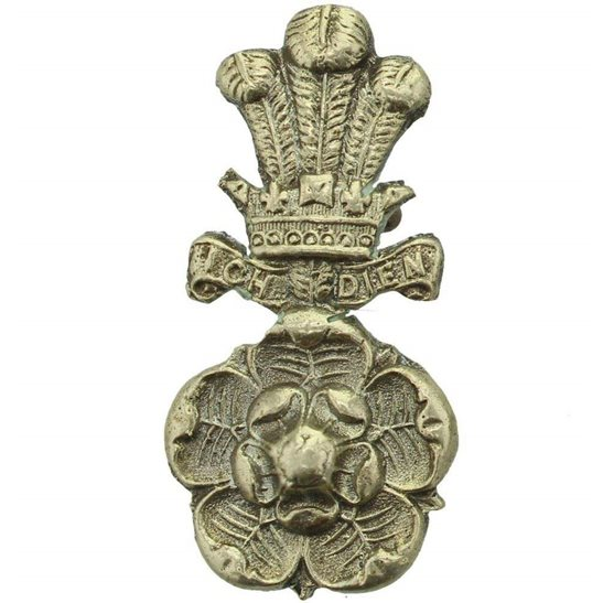 Yorkshire Hussars Yorkshire Hussars Regiment Collar Badge