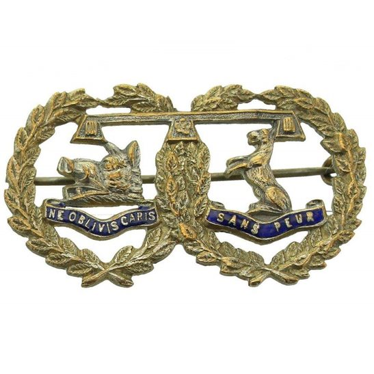 Argyll and Sutherland Highlanders WW1 Argyll and Sutherland Highlanders Regiment Scottish Sweetheart Brooch