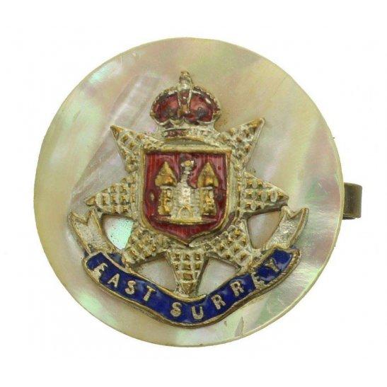 East Surrey East Surrey Regiment Sweetheart Brooch