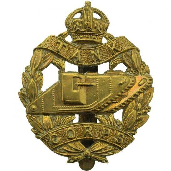 Royal Tank Corps WW1 Royal Tank Corps Cap Badge