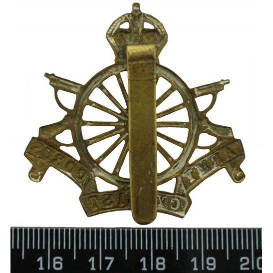 additional image for WW1 Army Cyclist Corps (Cyclists) Cap Badge
