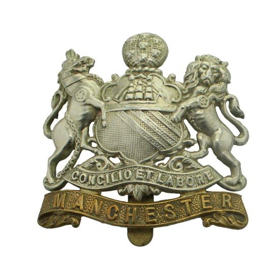 Image result for manchester cap badge