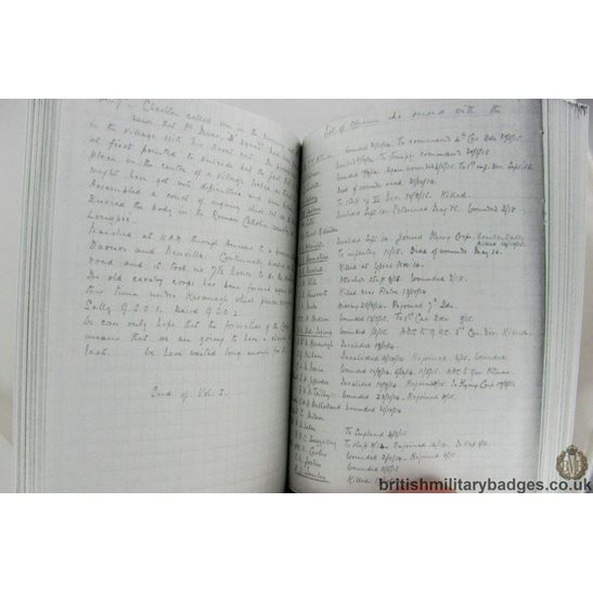 additional image for FROM MONS TO ARMISTICE Great War Diary Col Anderson 11th Hussars Book