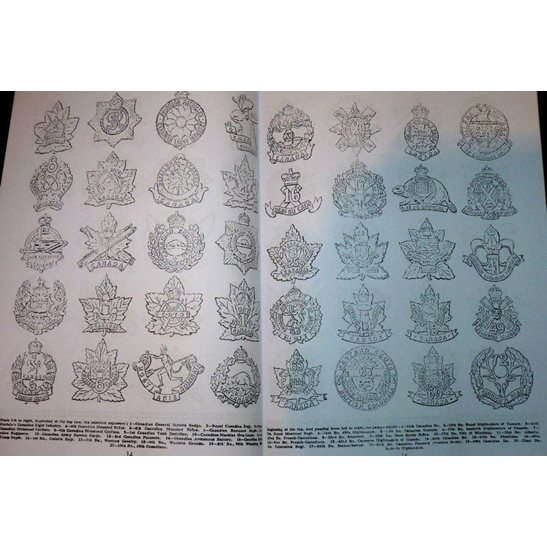 additional image for 500+ British & Commonwealth Cap Badges Reference Book