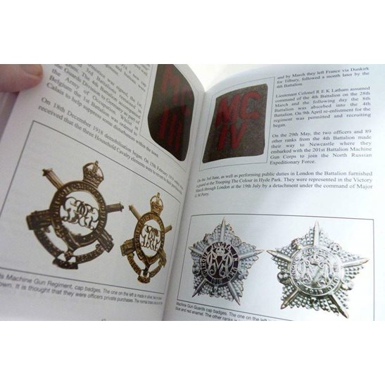 additional image for WW1 Machine Gun Corps MGC Flashes, Cap Badges & Shoulder Titles Reference Book