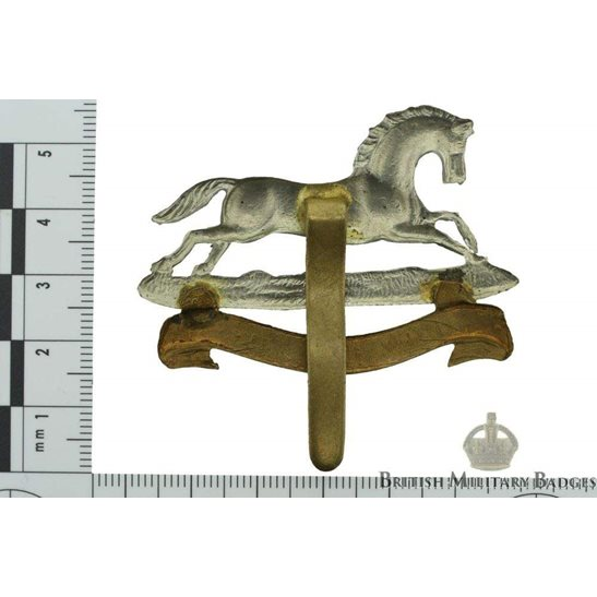 additional image for WW1 3rd Kings Own Hussars Regiment (King's) Cap Badge