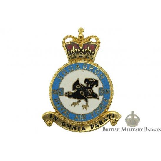 RAF Squadrons 24 XXIV Squadron Royal Air Force PLAQUE Badge RAF