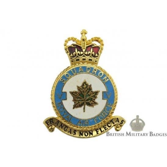 RAF Squadrons 5 V Squadron Royal Air Force PLAQUE Badge RAF