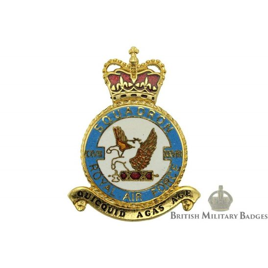 RAF Squadrons 28 XXVIII Squadron Royal Air Force PLAQUE Badge RAF
