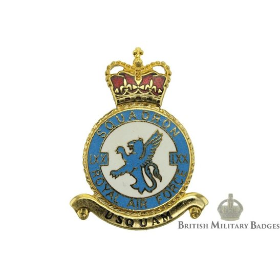 RAF Squadrons 70 LXX Squadron Royal Air Force PLAQUE Badge RAF