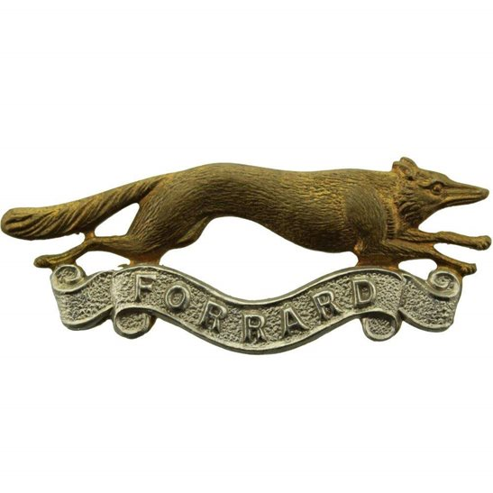 East Riding of Yorkshire Yeomanry East Riding of Yorkshire Imperial Yeomanry Regiment Collar Badge