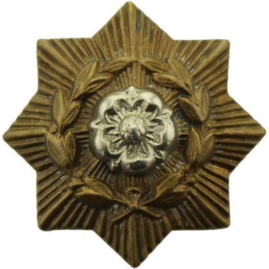 East Yorkshire East Yorkshire Regiment Collar Badge