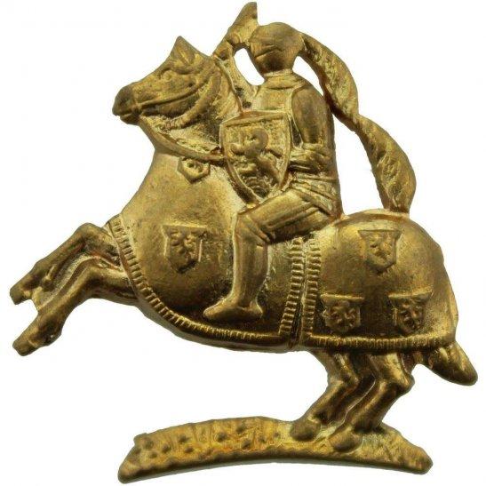 Fife and Forfar Yeomanry Fife and Forfar Yeomanry Regiment Scottish Collar Badge