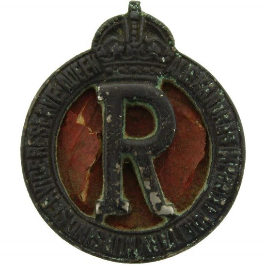 Queen Alexandras Nurses Queen Alexandras Imperial Military Nursing Service Reserve Collar Badge