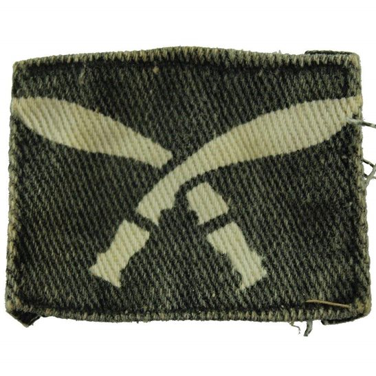 Gurkha Rifles WW2 63rd Gurkha Rifle Brigade Cloth Formation Sign Patch Badge