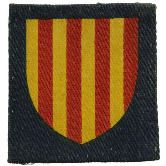 WW2 Northumbrian District, Northern Command PRINTED Cloth Formation Sign Patch Badge