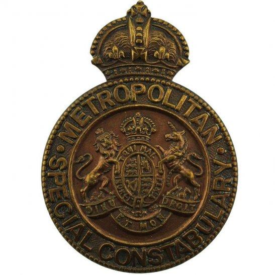 WW1 Metropolitan Police Special Constabulary Constable's Lapel Badge