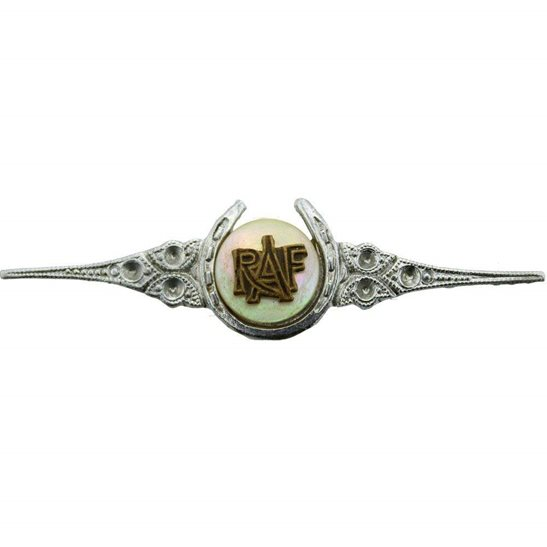 Royal Air Force RAF WW2 Royal Air Force RAF Wings Sweetheart Brooch - 57mm