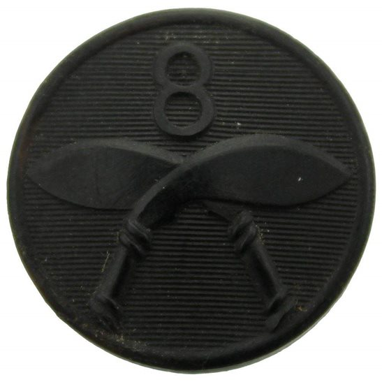 Gurkha Rifles WW2 8th Gurkha Rifles Regiment PLASTIC Bakelite Tunic Button - 26mm