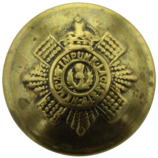 Scots Guards WW1 Scots Guards Regiment (Scottish) SMALL Tunic Button - 19mm