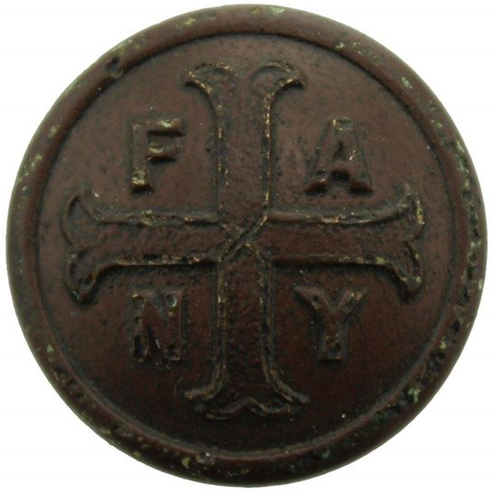 WW1 First Aid Nursing Yeomanry Regiment FANY Tunic Button - 22mm