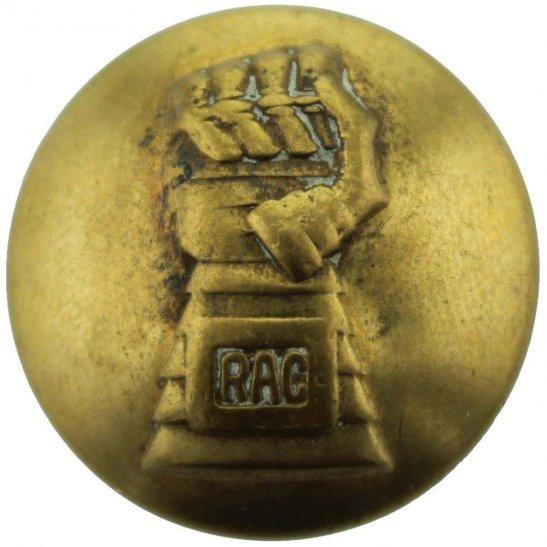 Royal Armoured Corps WW2 Royal Armoured Corps Tunic Button - 26mm