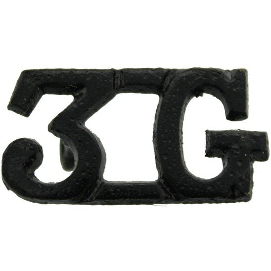 Gurkha Rifles 3rd Gurkha Rifles Regiment 3G Shoulder Title