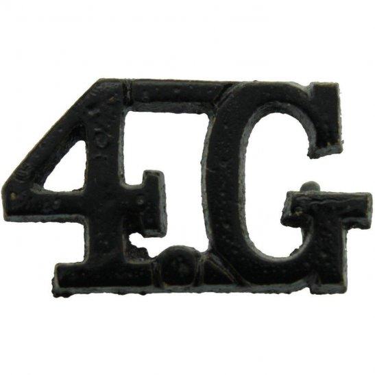 Gurkha Rifles 4th Gurkha Rifles Regiment 4G Shoulder Title