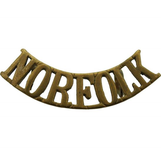Norfolk Regiment Norfolk Regiment Shoulder Title