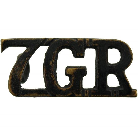 Gurkha Rifles 7th Gurkha Rifles Regiment 7GR Shoulder Title