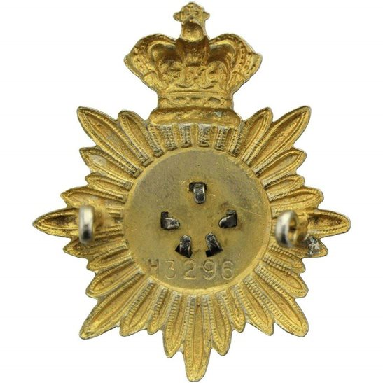 additional image for Royal British Legion RBL Bandsman Musicians (Bandmaster) Cap Badge