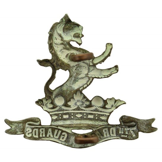 additional image for 7th Dragoon Guards Regiment Cap Badge
