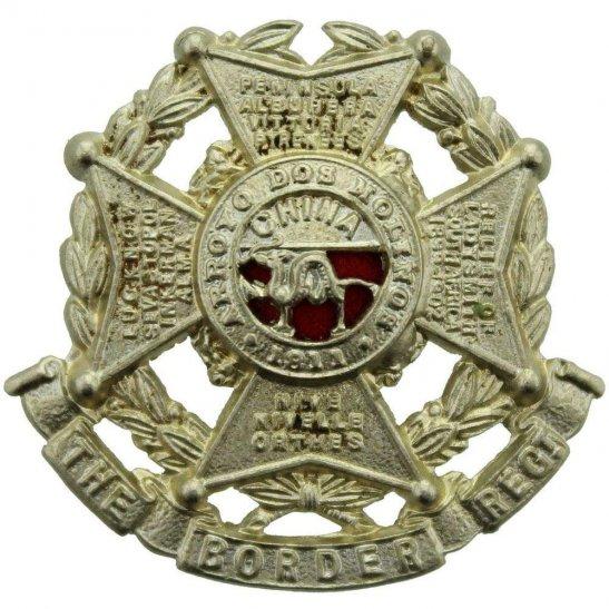 Border Regiment The Border Regiment Collar Badge