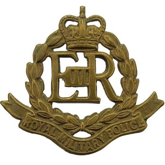 Royal Military Police RMP Royal Military Police Corps RMP Collar Badge - Queens Crown