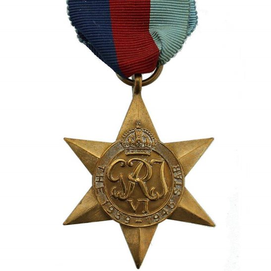 WW2 1939-45 Star Campaign Medal - FULL SIZE