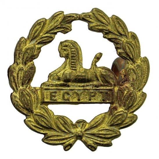 Gloucestershire Regiment WW2 Gloucestershire Regiment REAR / BACK Cap Badge