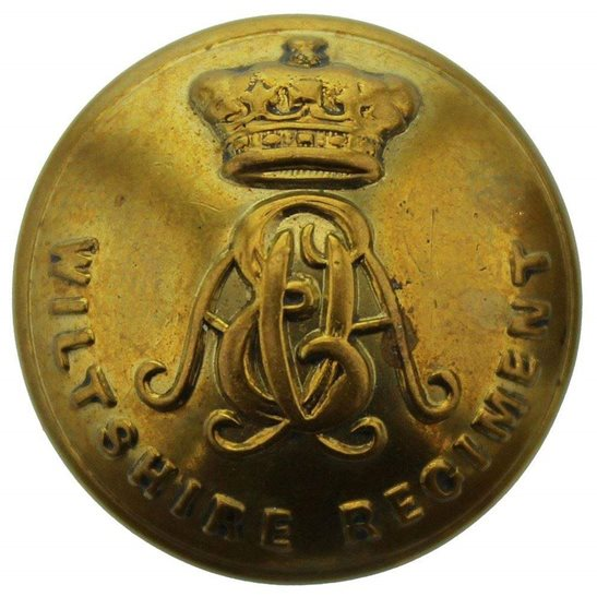 Wiltshire Regiment Wiltshire Regiment Tunic Button - 26mm