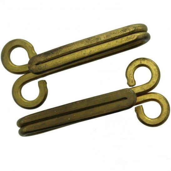 WW1 / WW2 British Army & RAF Brass Uniform Belt Hooks
