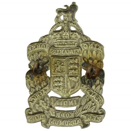 additional image for WW1 King Edwards Horse Overseas Dominion Colonial Regiment (Edward's) Cap Badge