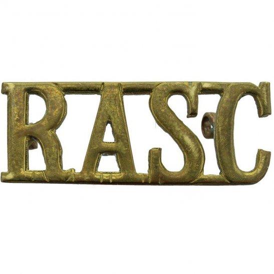 Royal Army Service Corps RASC WW2 Royal Army Service Corps RASC Shoulder Title