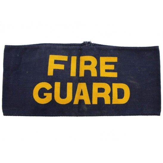 Air Raid Precautions ARP WW2 Fire Guard Watcher ARP Warden (Air Raid Precautions) Armband