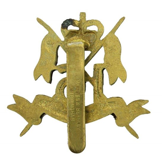 additional image for 16th (The Queens Lancers) Regiment Cap Badge MARPLES & BEASLEY - Queens Crown