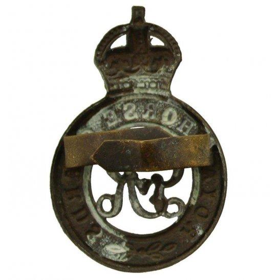 additional image for WW1 Royal Horse Guards Regiment RHG OFFICERS Bronze George V Cap Badge