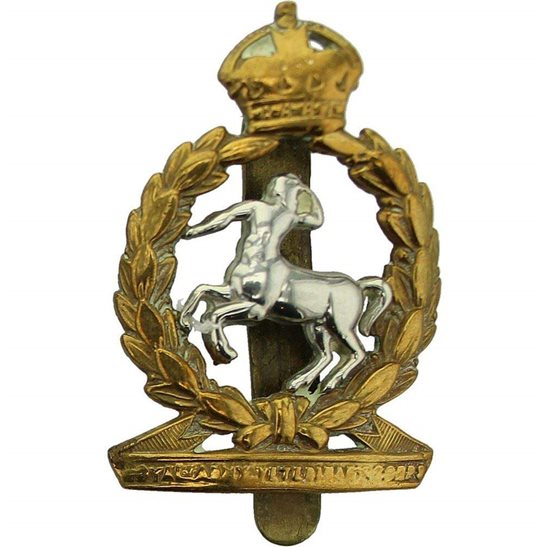 Army Veterinary Corps AVC WW2 Royal Army Veterinary Corps RAVC Cap Badge - FIRMIN LONDON