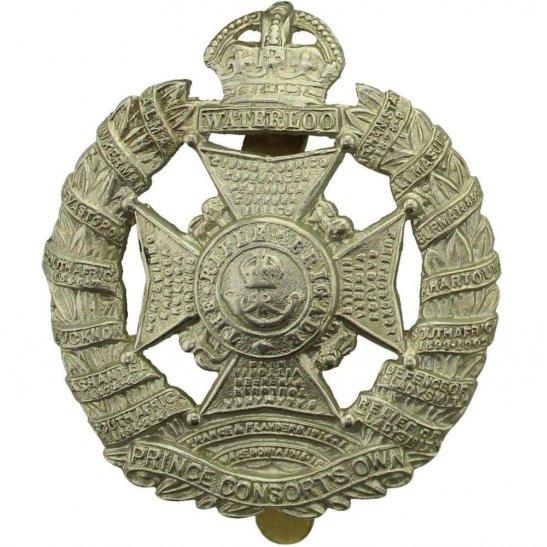 Rifle Brigade WW1 The Rifle Brigade (Prince Consort's Own) Regiment Cap  Badge