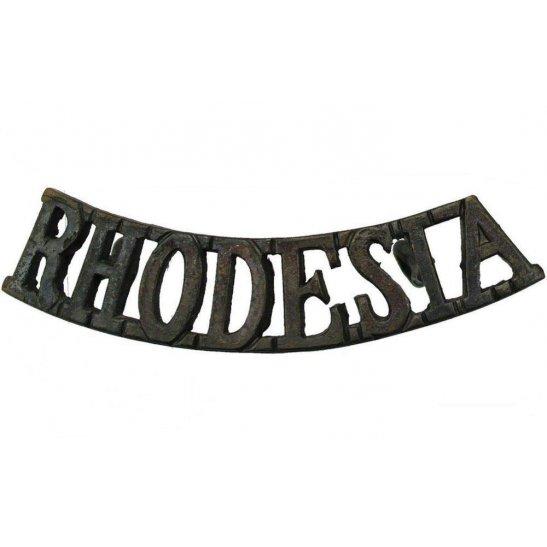 Rhodesian Army Rhodesian Division / Rhodesia Corps Shoulder Title