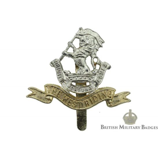 The Duke of Wellington's West Riding Regiment Staybrite Cap Badge