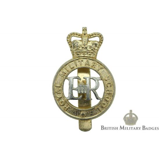 Royal Military School Staybrite Cap Badge
